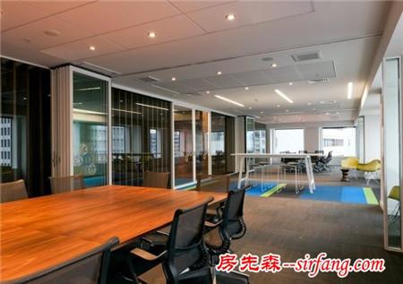 全木质办公室装修 给紧张的办公室工作带来一份娴静、柔和
