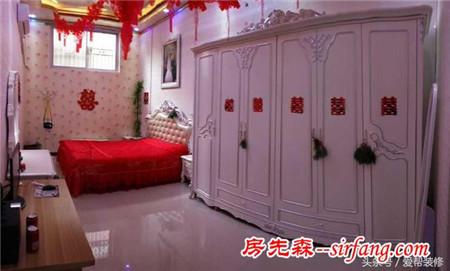 晒晒我的农村婚房:公公婆婆大手笔,光是梳妆台衣柜就花了1万多
