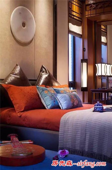 28种新中式卧室装修——古典演绎,取其神韵不摆其形!