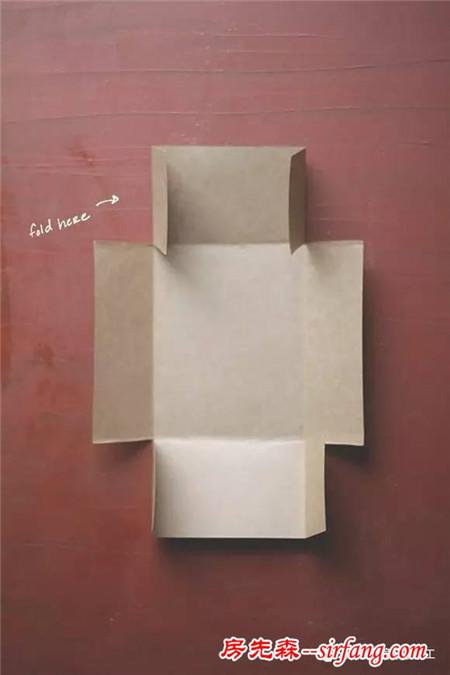 幼儿园亲子手工之礼品盒制作,硬卡纸diy礼盒全教程