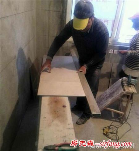 我家的瓦工师傅一天就贴了5个平方的砖,他都在干什么?