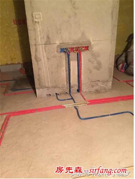 广州诗书路大院两室一厅装修工地 水电施工交作业啦!