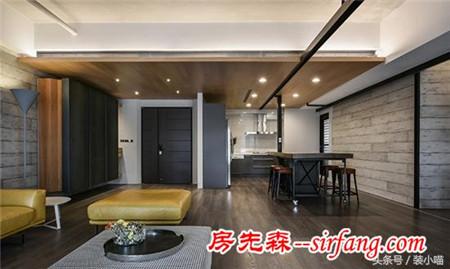 天津国耀上河城小区loft风格大户型w彩票案例 有型有范更有格