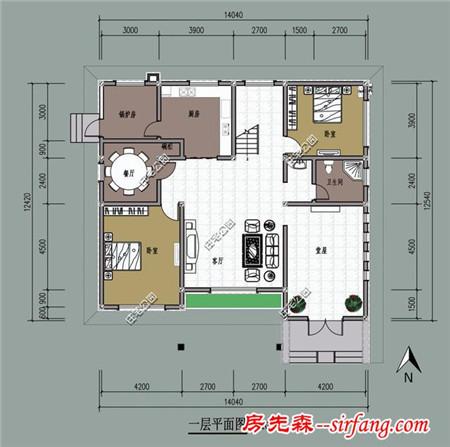 3套兩層農村別墅圖紙分享 堂屋客廳老人房怎么搭配好