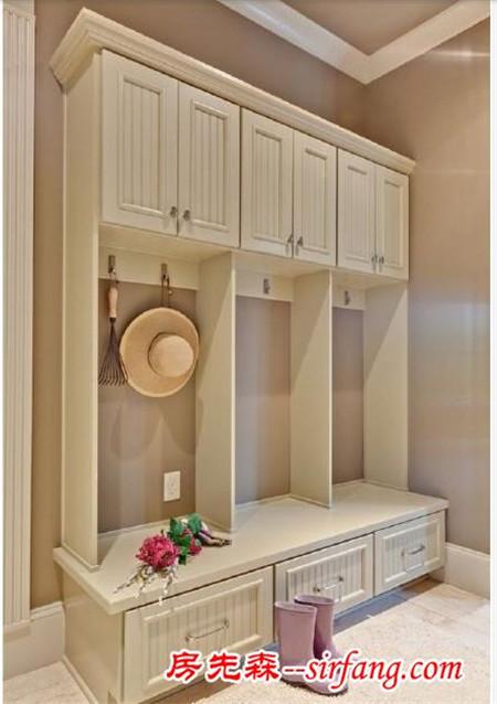 玄关鞋柜设计 美观又实用
