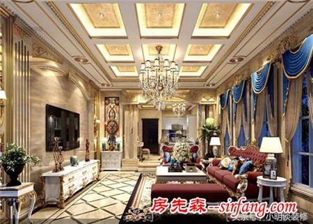 316平方别墅欧式古典风格居然可以装成这样