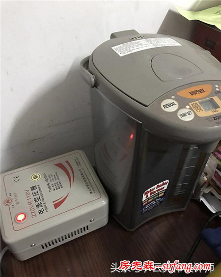 为用国外电器,我家装修的时候设计了110V电路
