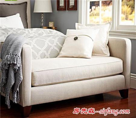 家居设计之床尾凳,卧室实用收纳多面手,你肯定没有!