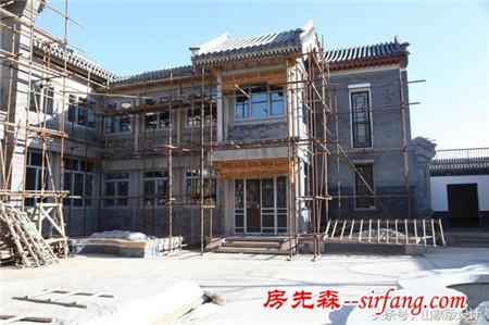 实拍北京四合院建筑装修施工图,这样的工艺要推广!