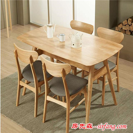 时尚简约餐桌,铸就品质生活