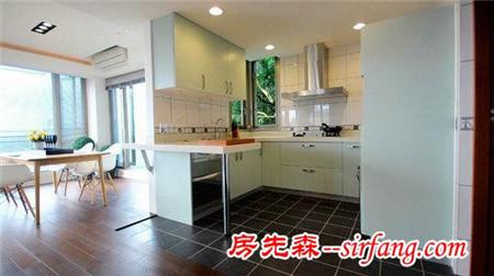 8小户型厨房设计 蜗居豪宅都适用