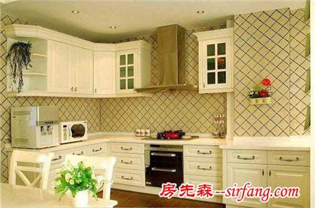 小户型也可以装出大厨房,第二点确实实用啊!