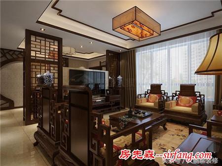 西安——160㎡中式新古典风格装修案例 低调且奢华