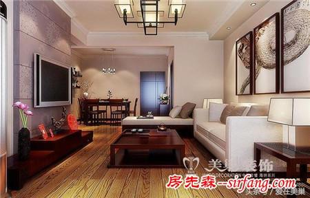 洛阳100平中式两居室美家,就是这么简单、随心