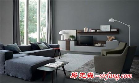实用型家居装饰图,客厅好亮好宽敞!