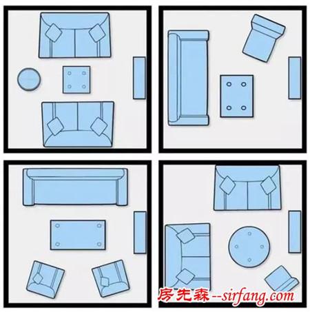客厅的沙发和茶几到底怎么放才好看?