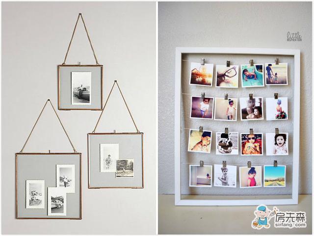 除了裱画,这些框框还能花样装点你的家
