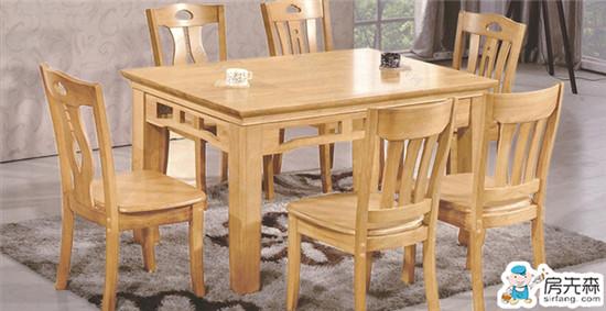 实木就是经典 餐厅实木桌选购注意事项