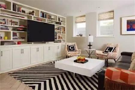 电视背景墙可以是书架?柜子?门?