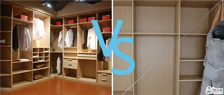 整体衣柜PK木工打衣柜,你会怎么选?