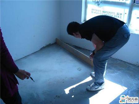 铺砖前,你家瓦工做好地面找平了吗?