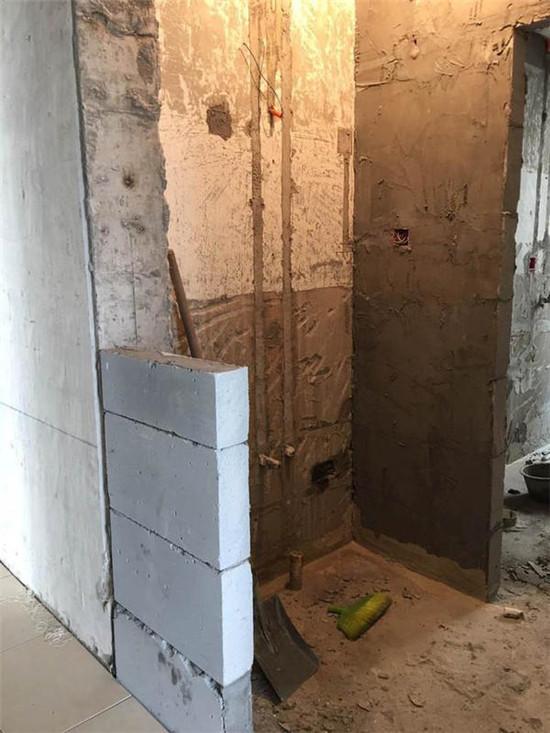 装修砌墙不是简单问题,多看看多想想,后悔了别找我