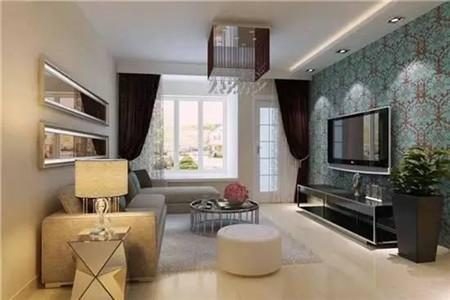让客厅美美哒 16套客厅简约风电视墙设计
