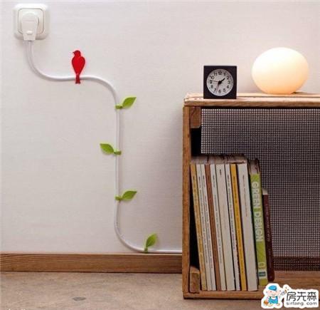 谁说装修电线一定要穿管?看我化腐朽为神奇!