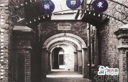 上海印象——弄堂里的石库门