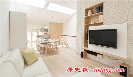 台湾100㎡复式公寓 落地窗下的惬意生活