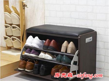 玄关让鞋子走进鞋柜的心里