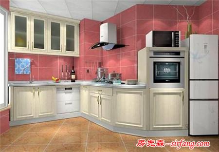 欧式厨房装修效果别样的欧式风情