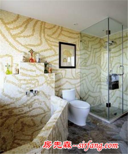 瓷砖给卫生间的皮肤好好装修一回