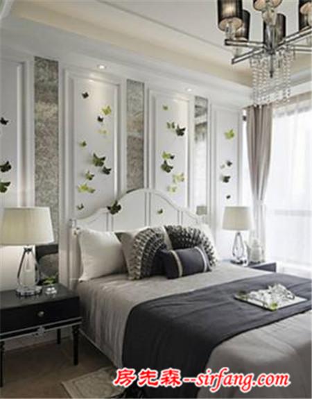 当卧室遇上欧式装修别致的效果