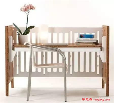 太机智了!聪明妈妈这样改造婴儿床,孩子长到18岁都还可以用