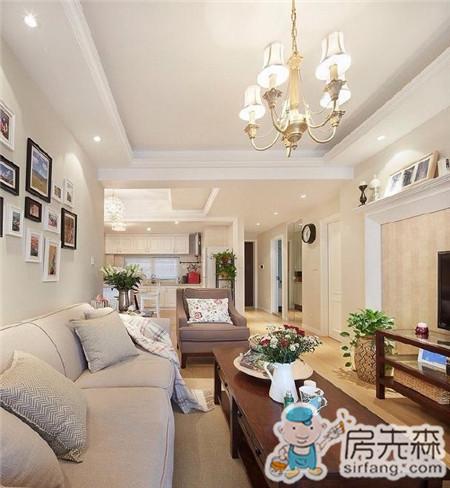业主用11W装修两居85M²美式家居!大开眼界