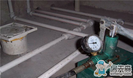 家装ppr水管打压规范4大步骤