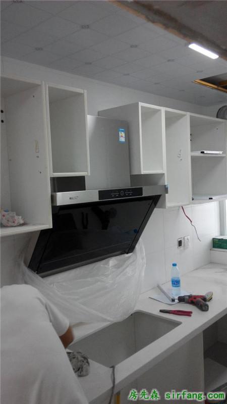 橱柜+烟机安装+DIY厨房下水改装,海量现场图,安装直播贴~