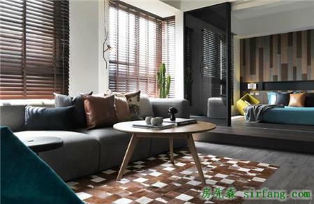 经典黑灰色设计案例,这款75平的室内设计真的很好看!