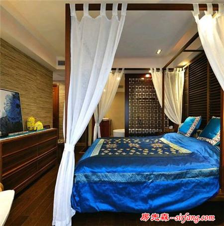 东南亚风情的卧室