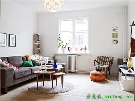 98平米的森林小清新公寓简单生活干净家