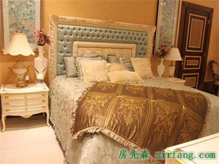 puccini意术馆奢华高贵欧式风情卧房