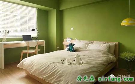 卧室的墙面,刷什么颜色好看?_装修设计_房先森互联网