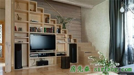 小户型复式阁楼装修效果图复式公寓美爆
