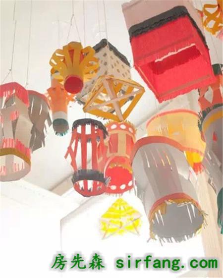 布角料创意灯笼,各种纸灯笼做法大全,过年用哦