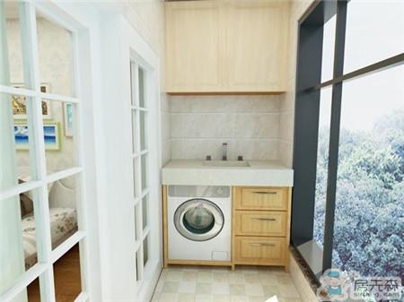 装修设计的时候别忘了给洗衣机预留空间