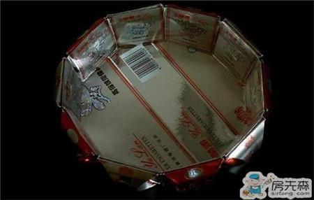 烟盒做收纳盒 好不好则要看你动手能力