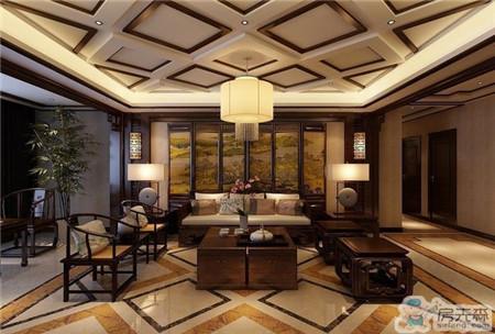 安阳安华观邸176平中式风格装修