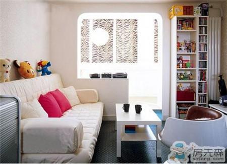 饰家新提案 小户型白色沙发搭配