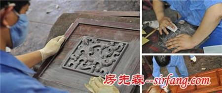 精湛的古老技艺 红木家具的生漆工艺